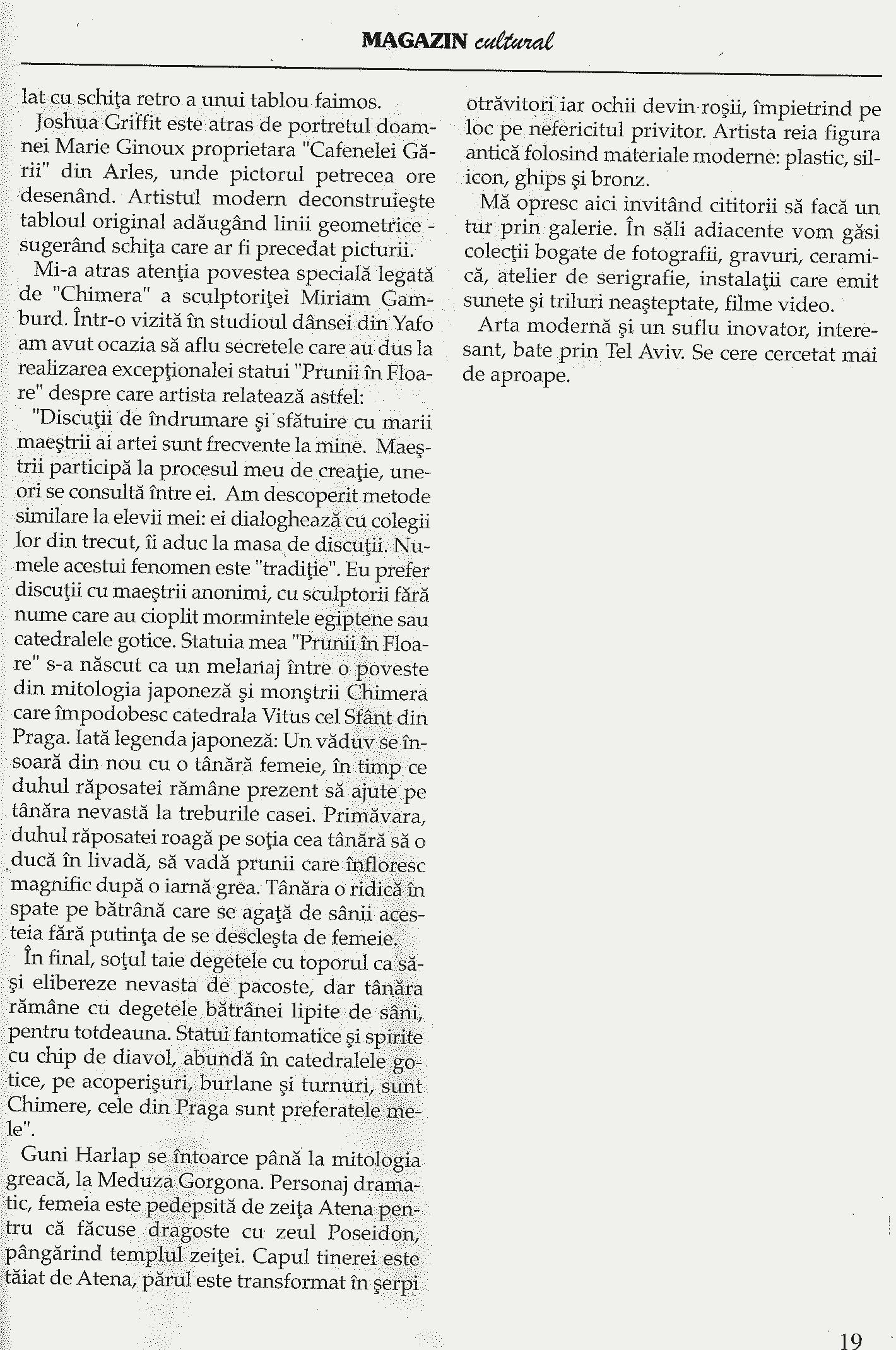 "Adrian Grauenfels. Pe urmele lui.. From ""Expres Magazin"", 07.2017. In Romanian."