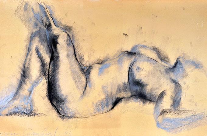 Танцовщица Шломит Ярон и другие рисунки